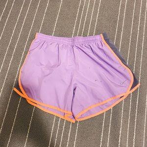Nike Lavender Purple Athletic Running Shorts